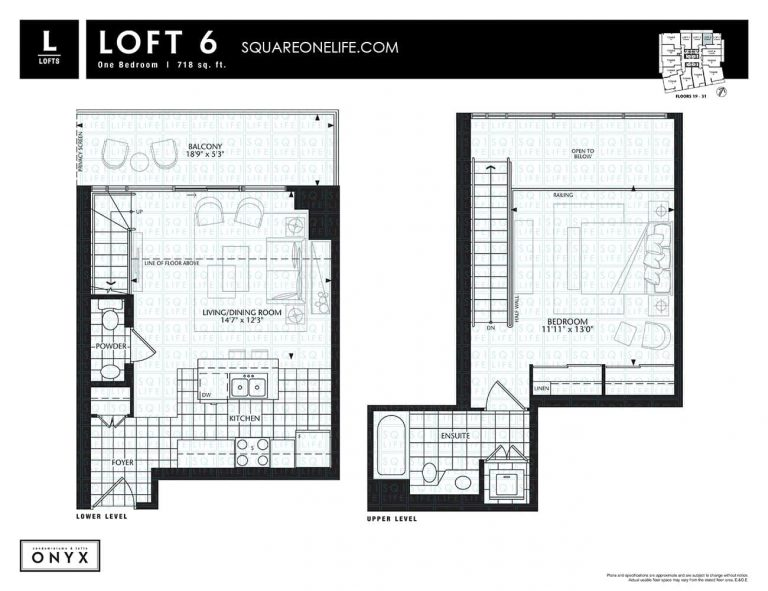 223-Webb-Dr-Onyx-Condo-Floorplan-Loft-6-1-Bed