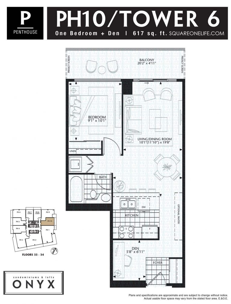 223-Webb-Dr-Onyx-Condo-Floorplan-PH10-1-Bed-1-Den