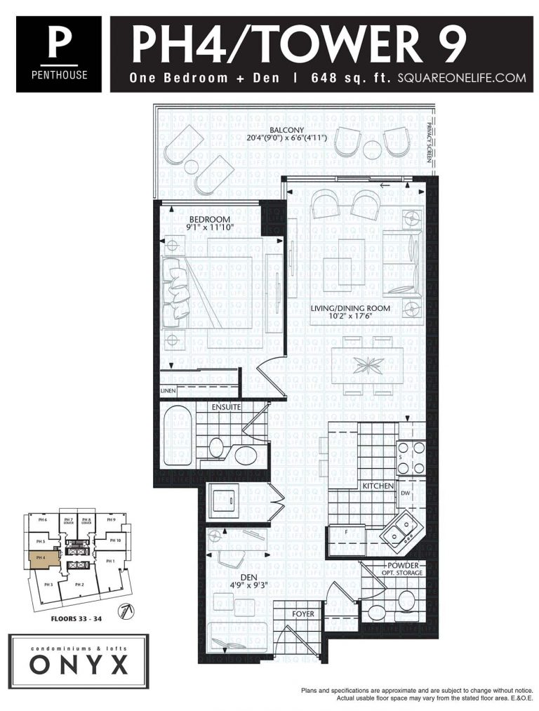 223-Webb-Dr-Onyx-Condo-Floorplan-PH4-1-Bed-1-Den