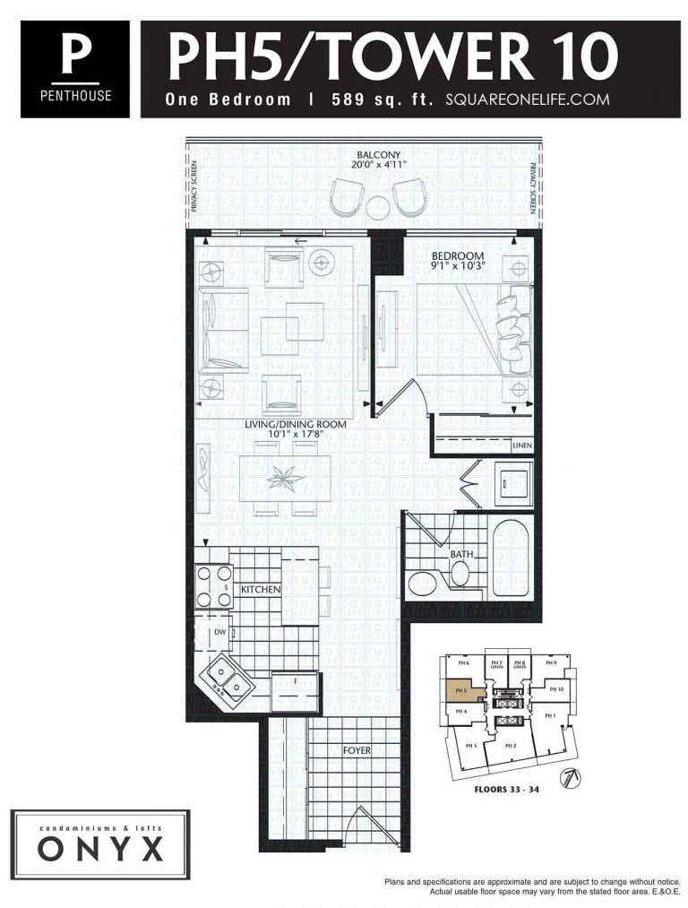223-Webb-Dr-Onyx-Condo-Floorplan-PH5-1-Bed