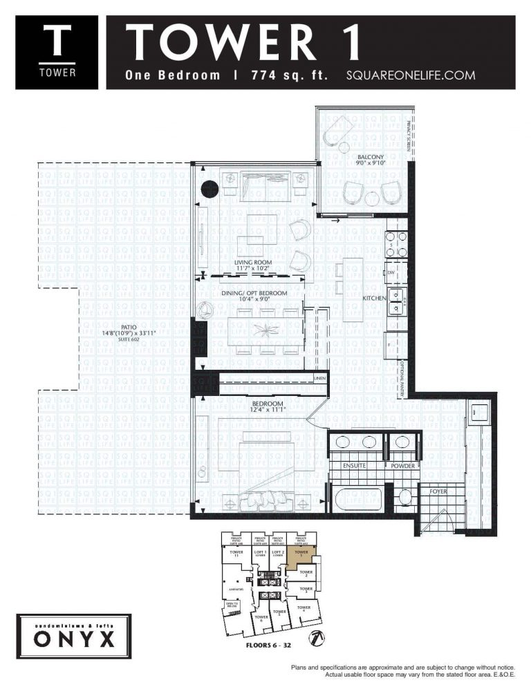 223-Webb-Dr-Onyx-Condo-Floorplan-Tower-1-1-Bed-2-Bath