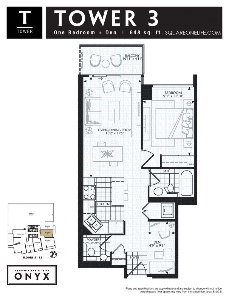 223-Webb-Dr-Onyx-Condo-Floorplan-Tower-3-1-Bed-1-Den-2-Bath