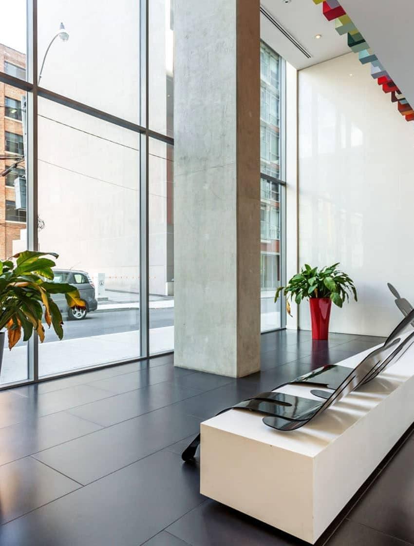 25-oxley-st-toronto-glas-condos-king-west-condos-king-west-lofts-toronto-condos-toronto-lofts-front-entrance-door-lobby-foyer-reception