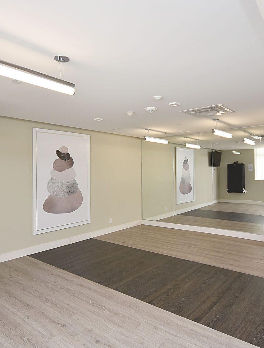 1575-lakeshore-rd-w-craftsman-condos-for-sale-yoga-studio