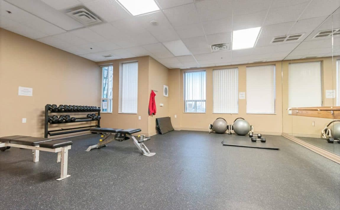 Papillon Place II - 4889 Kimbermount Ave - Gym View 2