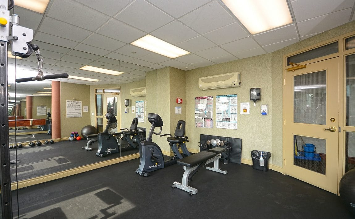Parkway Place III - 2585 Erin Centre Blvd - Gym View 2