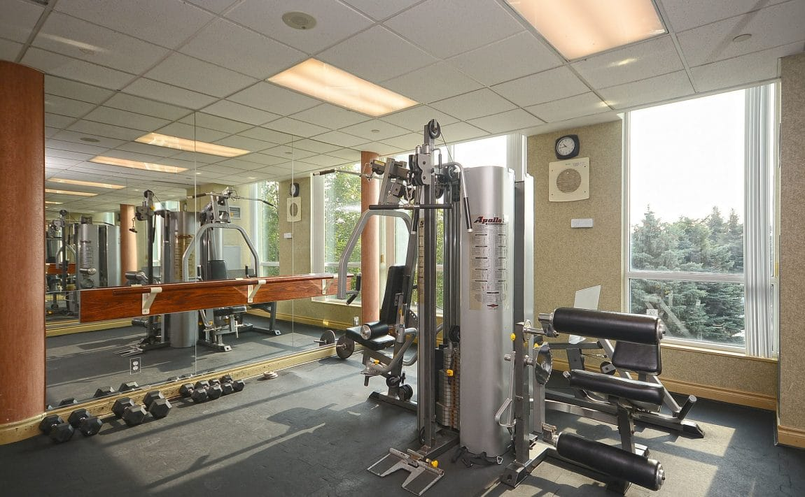 Parkway Place III - 2585 Erin Centre Blvd - Gym View 3