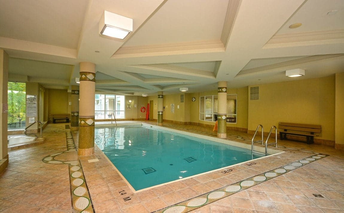 Parkway Place III - 2585 Erin Centre Blvd - Indoor Pool View 2