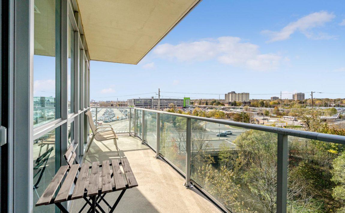 Stonebrook Condominiums-1055 Southdown Rd-Balcony