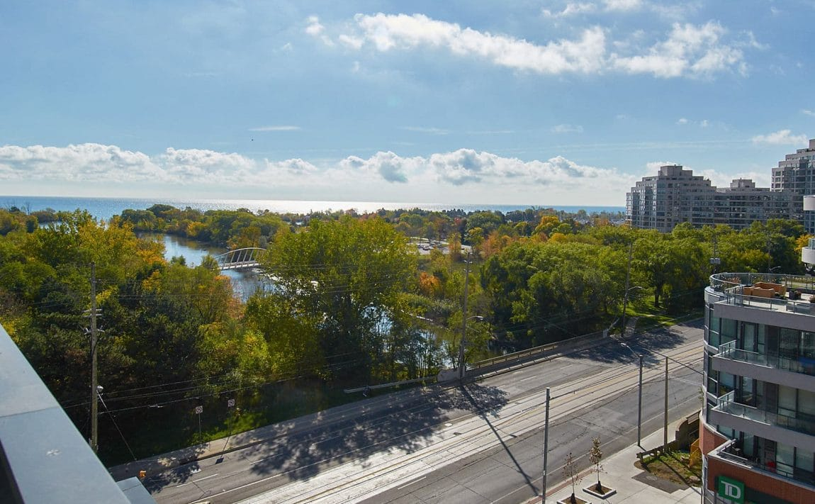 WESTLAKE PHASE II - 2200 Lake Shore Blvd W - Balcony View 3
