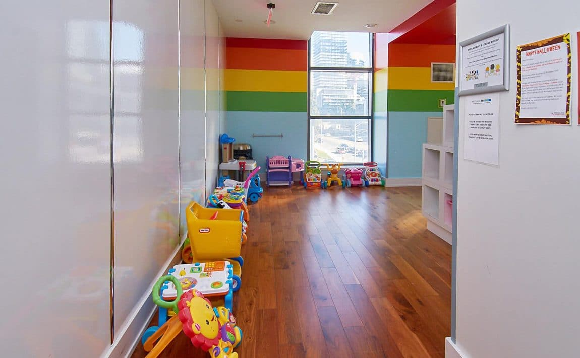 WESTLAKE PHASE II - 2200 Lake Shore Blvd W - Children_s Playroom