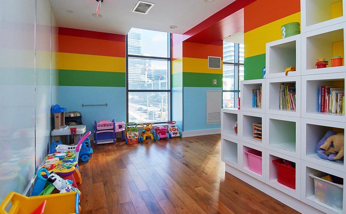 WESTLAKE PHASE II - 2200 Lake Shore Blvd W - Children_s Playroom View 2