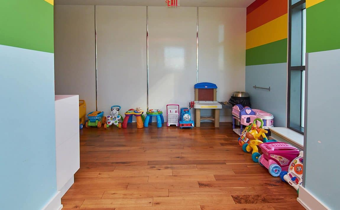 WESTLAKE PHASE II - 2200 Lake Shore Blvd W - Children_s Playroom View 3