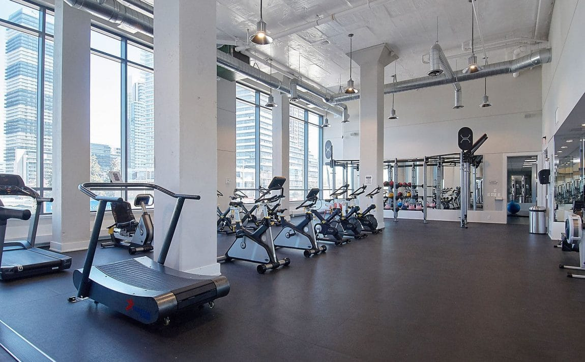 WESTLAKE PHASE II - 2200 Lake Shore Blvd W - Gym View 2