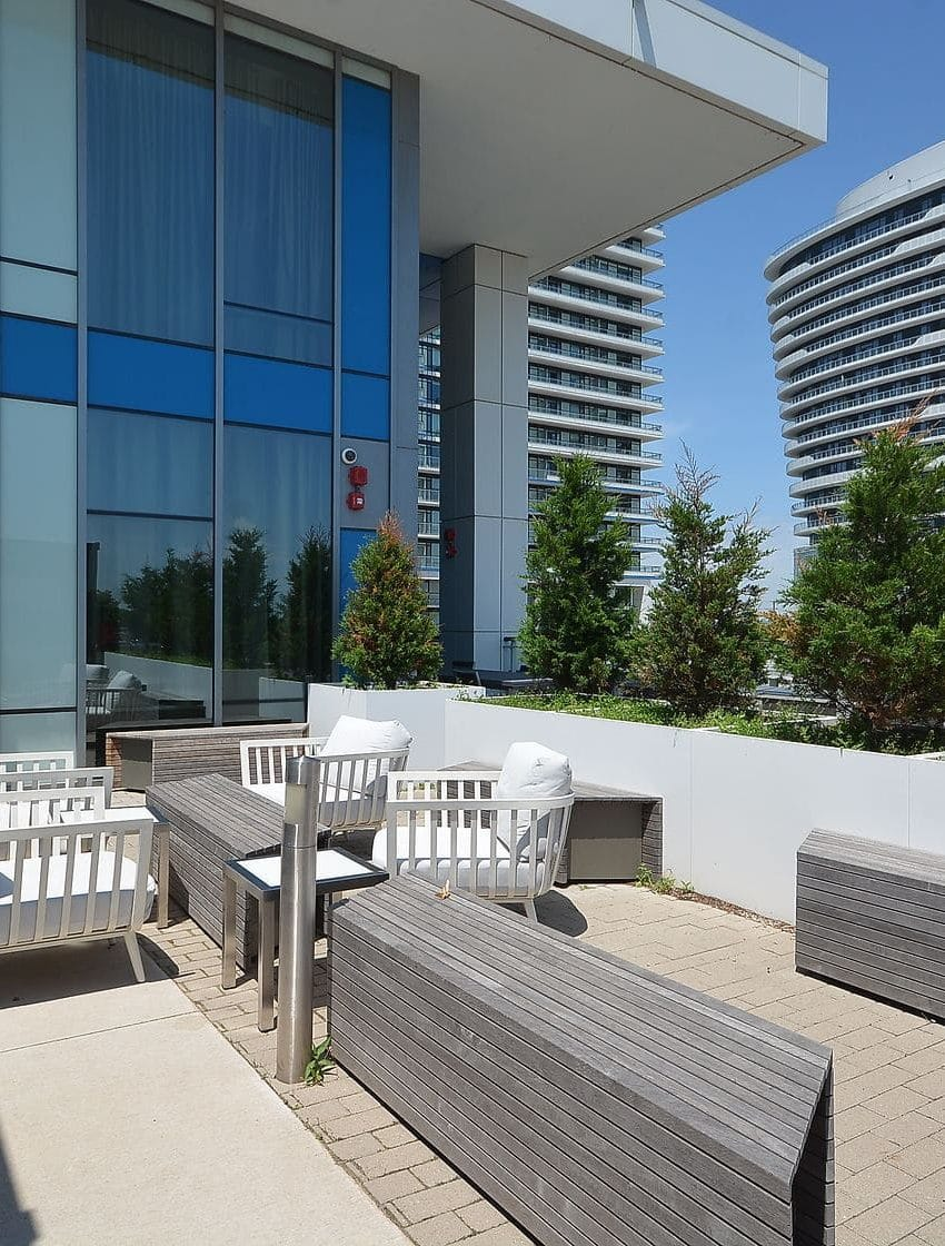 West Tower - 2560 Eglinton Ave W - Balcony View 6