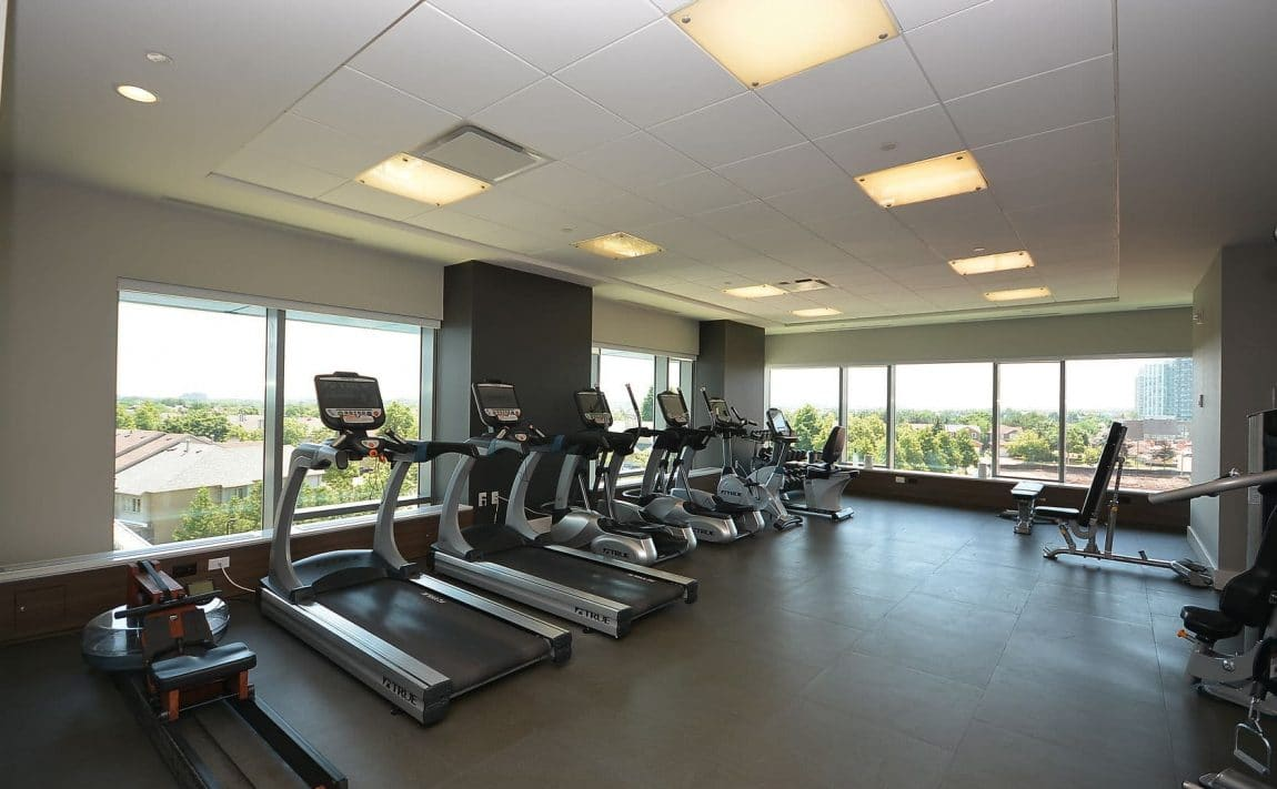 West Tower - 2560 Eglinton Ave W - Gym