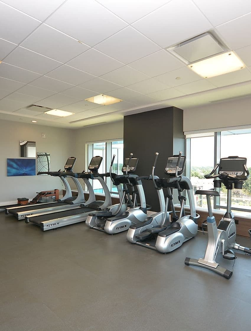 West Tower - 2560 Eglinton Ave W - Gym View 2
