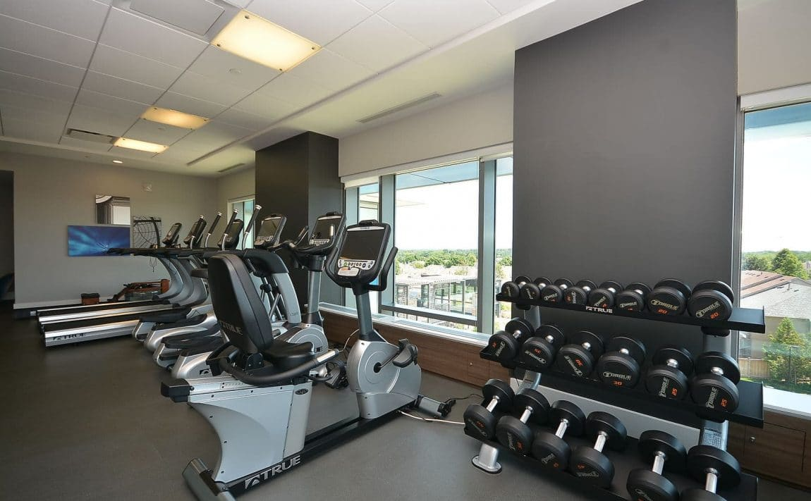 West Tower - 2560 Eglinton Ave W - Gym View 3