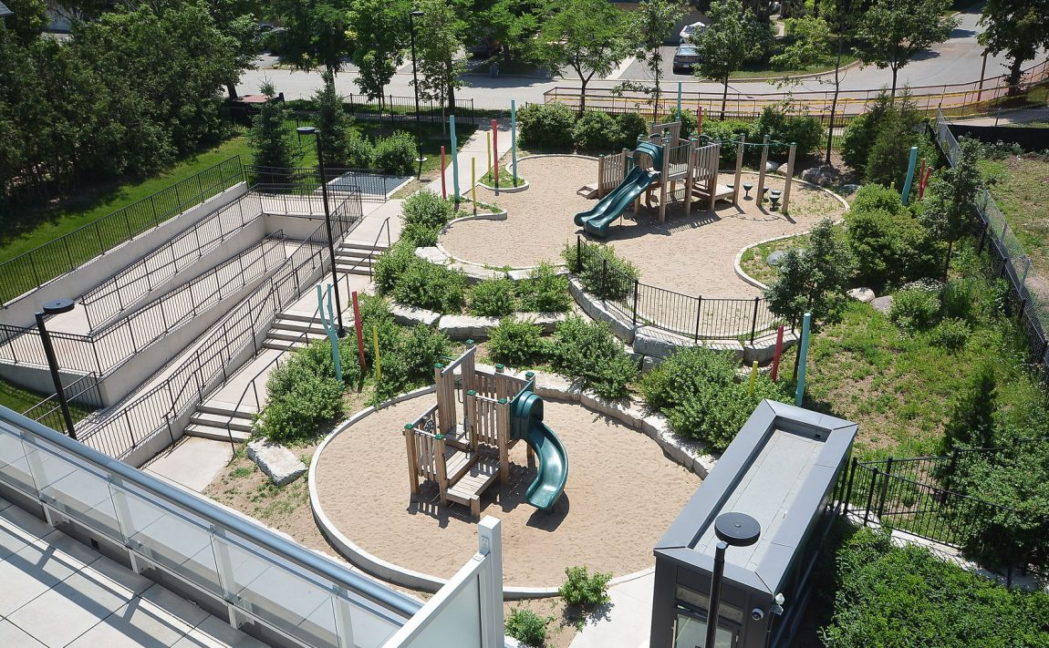 West Tower - 2560 Eglinton Ave W - Playground