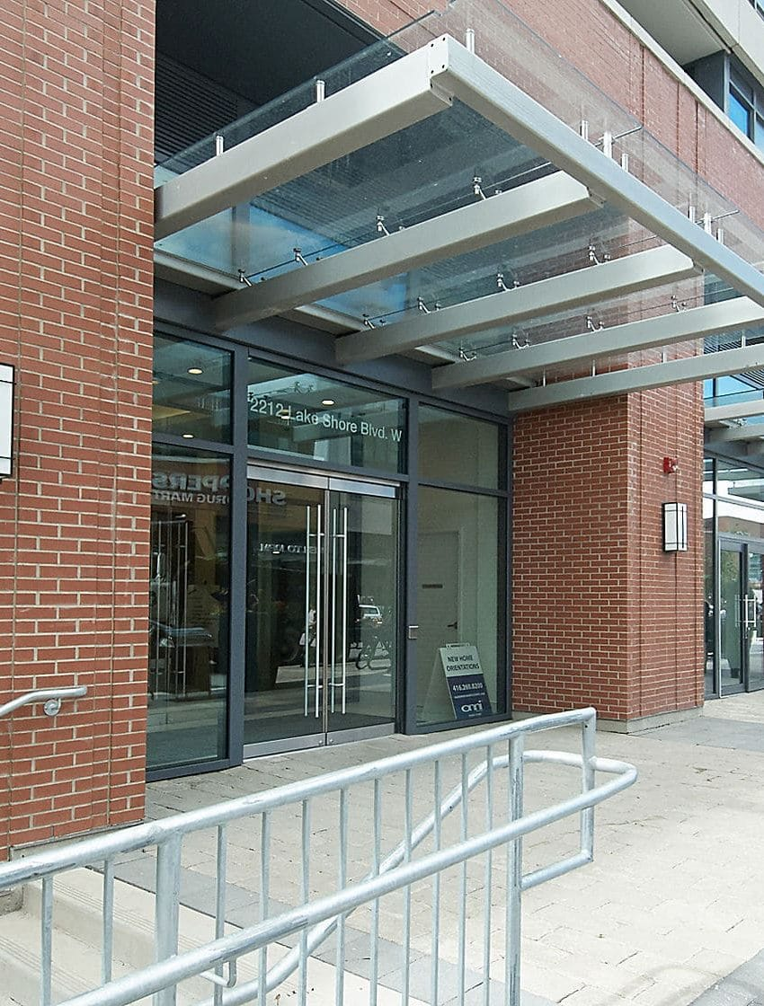 Westlake III - 2212 Lake Shore Blvd W - Entrance