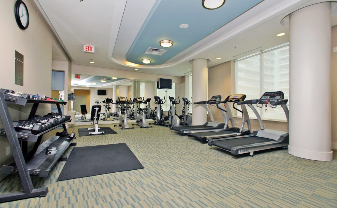 Vibe at Liberty Village-100 Western Battery Rd-Gym