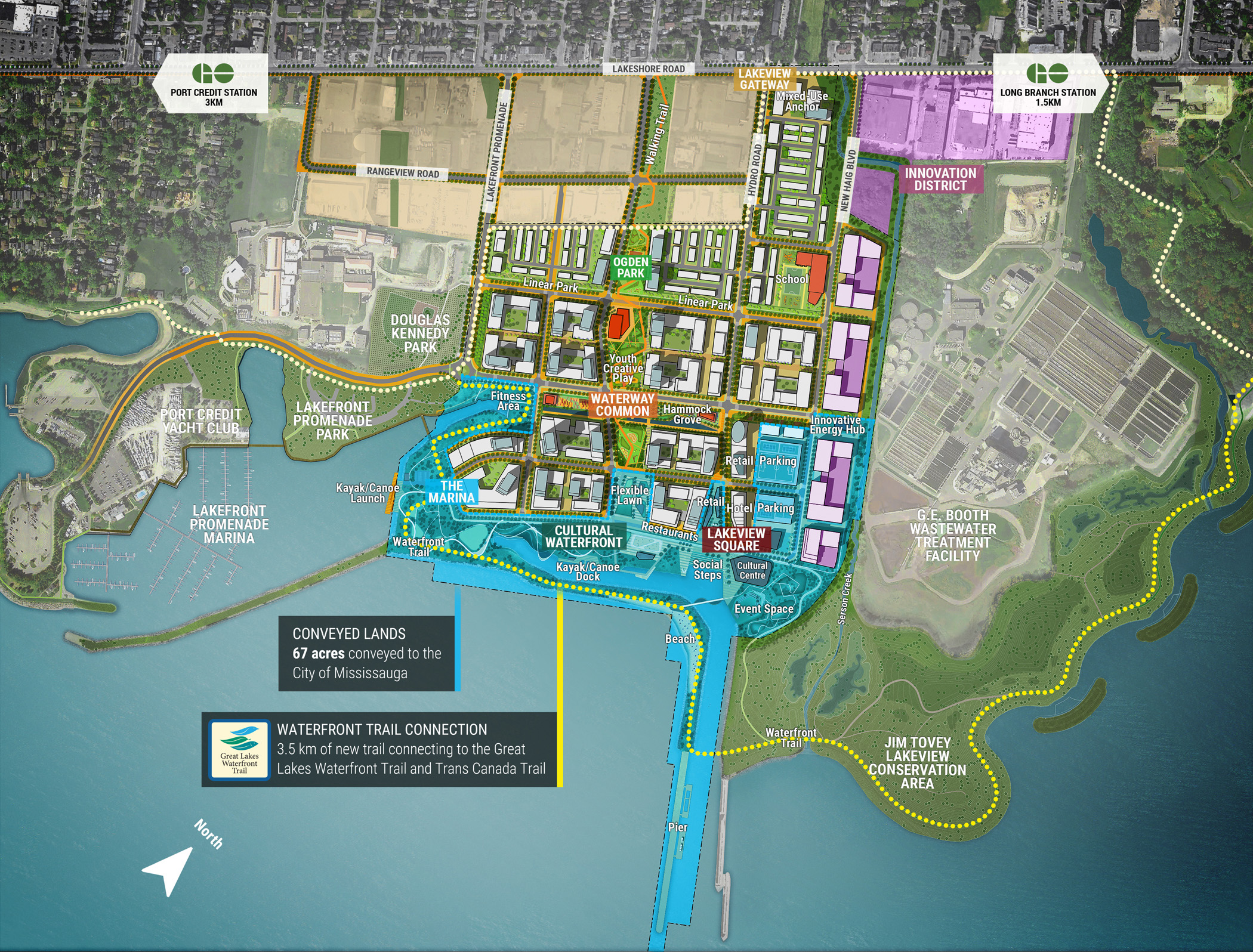 lakeview-village-condos-for-sale-mississauga-lakeside-site-plan-1