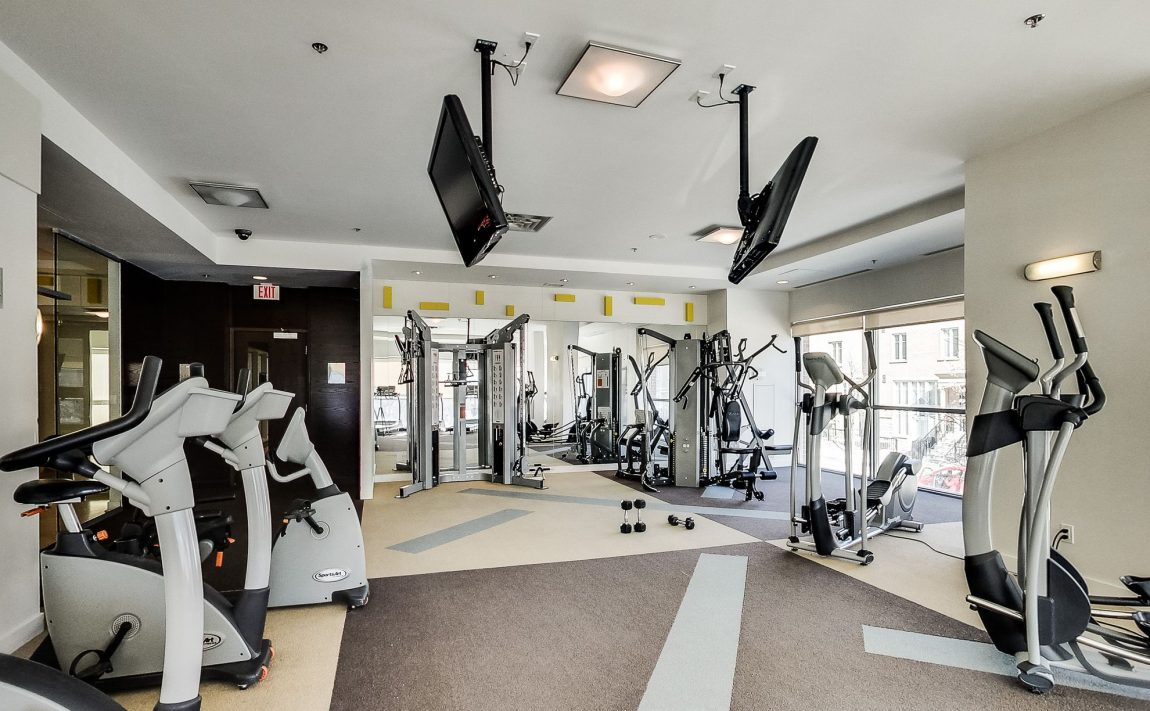 Zip Condos-80 Western Battery Rd-Gym 1