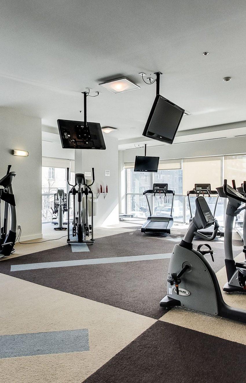 Zip Condos-80 Western Battery Rd-Gym