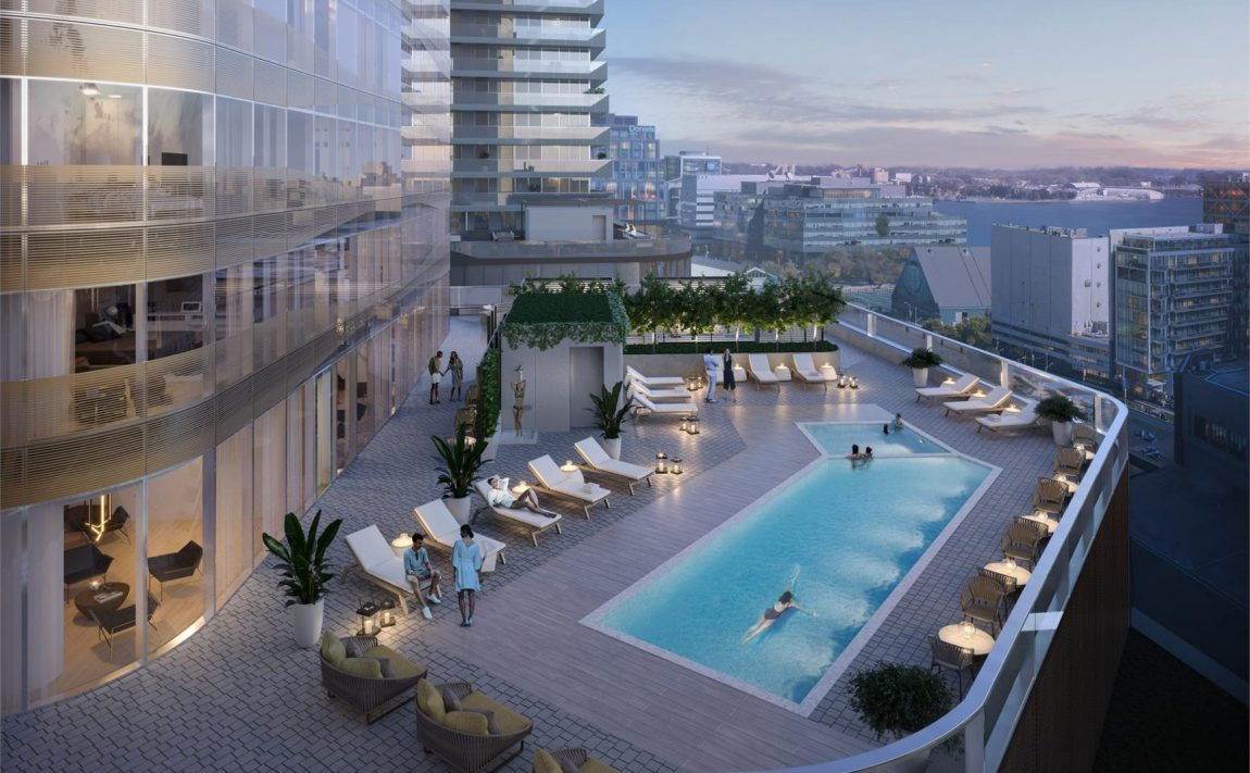 sky-tower-pinnacle-one-yonge-toronto-condos-for-sale-outdoor-pool-terrace
