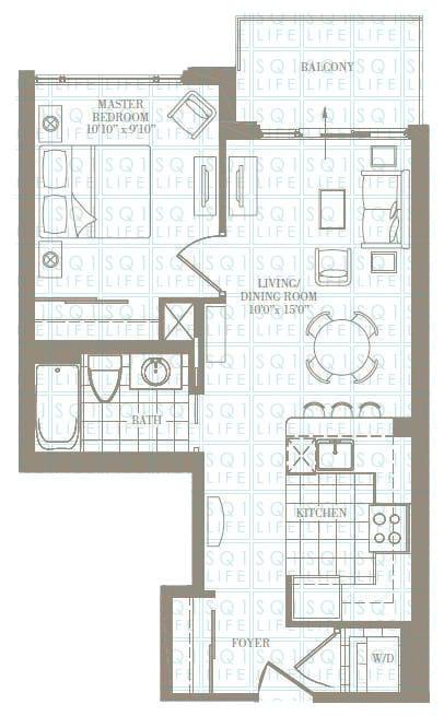 1-Bed-1-Bath-The-RoseLand-588-sqft