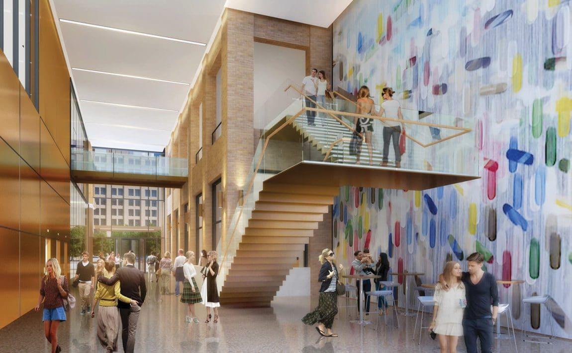101-spadina-ave-condos-for-sale-toronto-king-west-podium-lobby