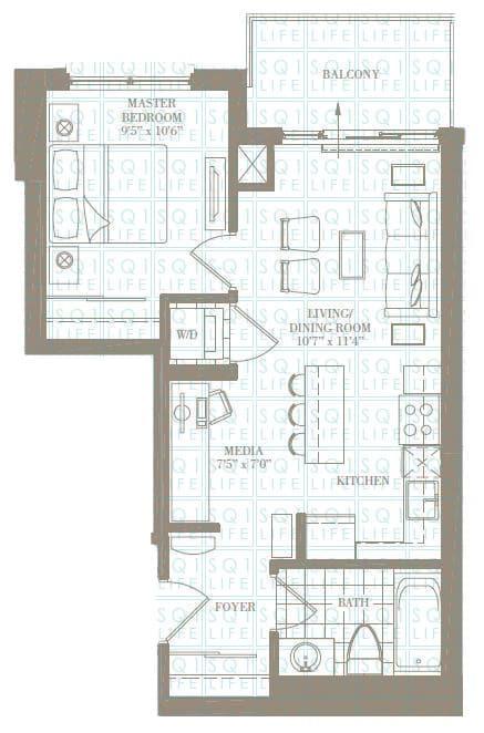 1+1-Bed-1-Bath-The-Bridgeport-551-sqft