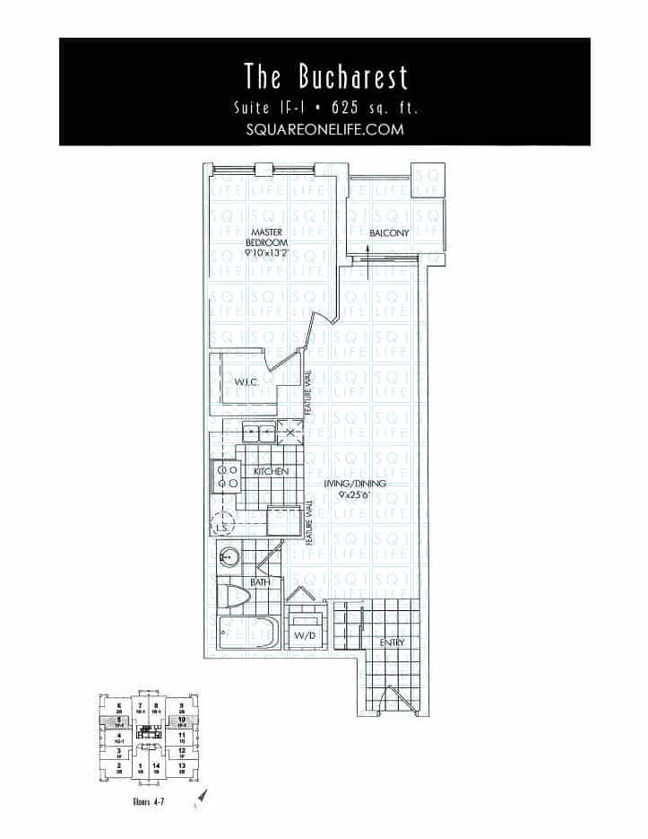 388-Prince-Of-Wales-Dr-One-Park-Tower-Condo-Floorplan-The-Bucharest-1-Bed-1-Bath