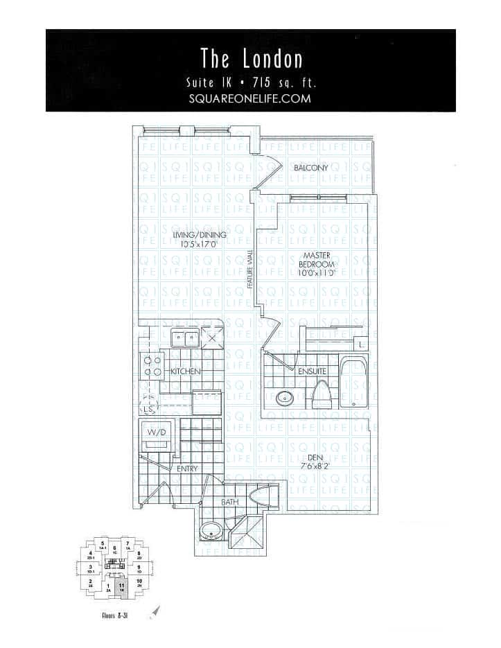 388-Prince-Of-Wales-Dr-One-Park-Tower-Condo-Floorplan-The-London-1-Bed-1-Den-2-Bath