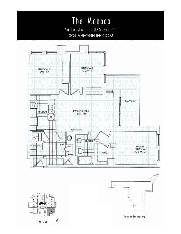 388-Prince-Of-Wales-Dr-One-Park-Tower-Condo-Floorplan-The-Monaco-3-Bed-2-Bath