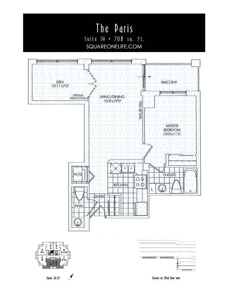 388-Prince-Of-Wales-Dr-One-Park-Tower-Condo-Floorplan-The-Paris-1-Bed-1-Den-2-Bath