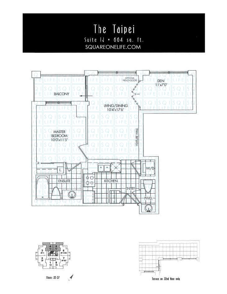 388-Prince-Of-Wales-Dr-One-Park-Tower-Condo-Floorplan-The-Taipei-1-Bed-1-Den-2-Bath