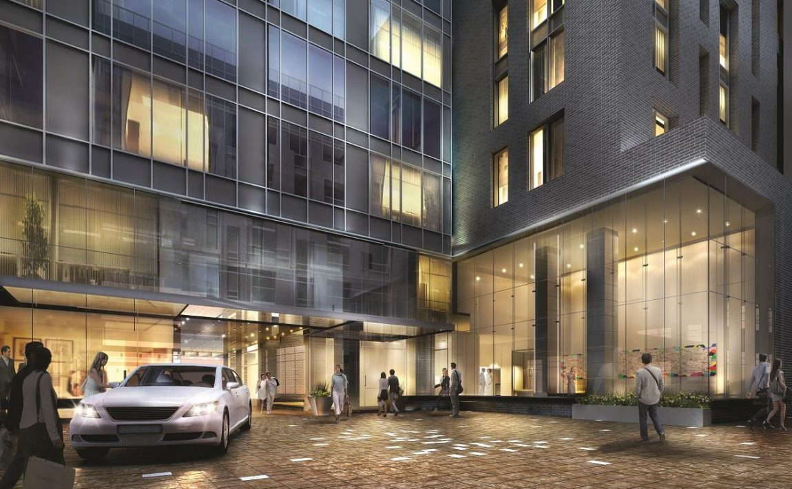 king-blue-condos-355-king-st-w-toronto-for-sale-driveway-courtyard