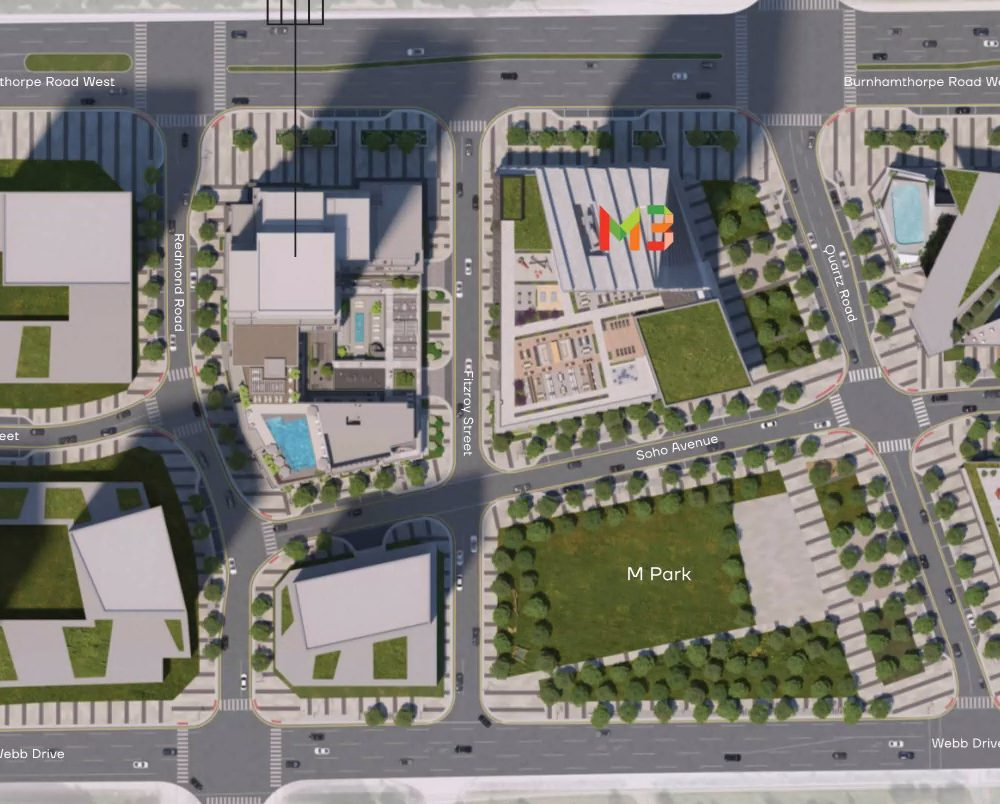 m4-condos-for-sale-mississauga-square-one-siteplan