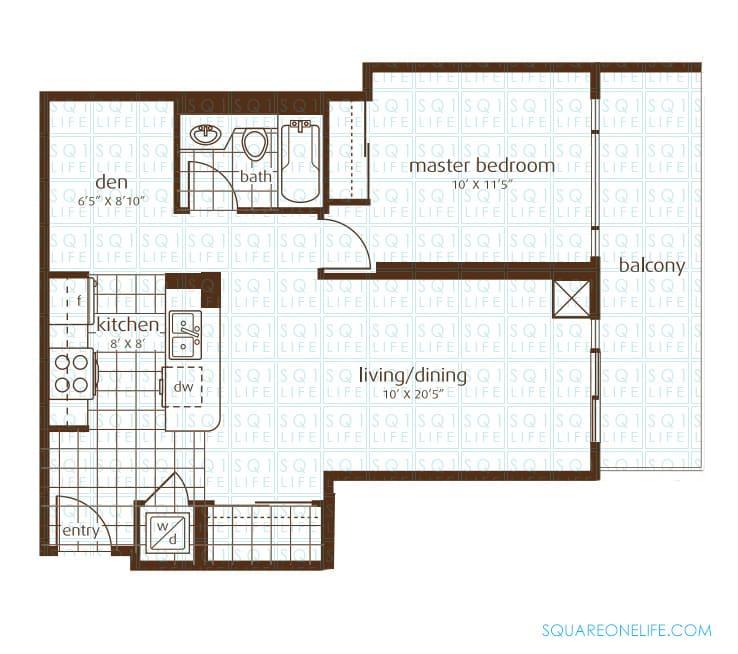 3525-Kariya-Dr-Elle-Condo-Floorplan-1-1-Bed-1-Den-1-Bath