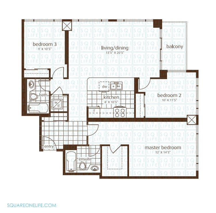 3525-Kariya-Dr-Elle-Condo-Floorplan-17-3-Bed-2-Bath