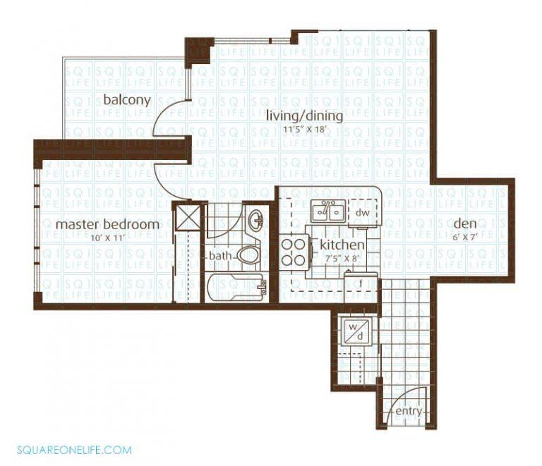 3525-Kariya-Dr-Elle-Condo-Floorplan-6-1-Bed-1-Den-1-Bath
