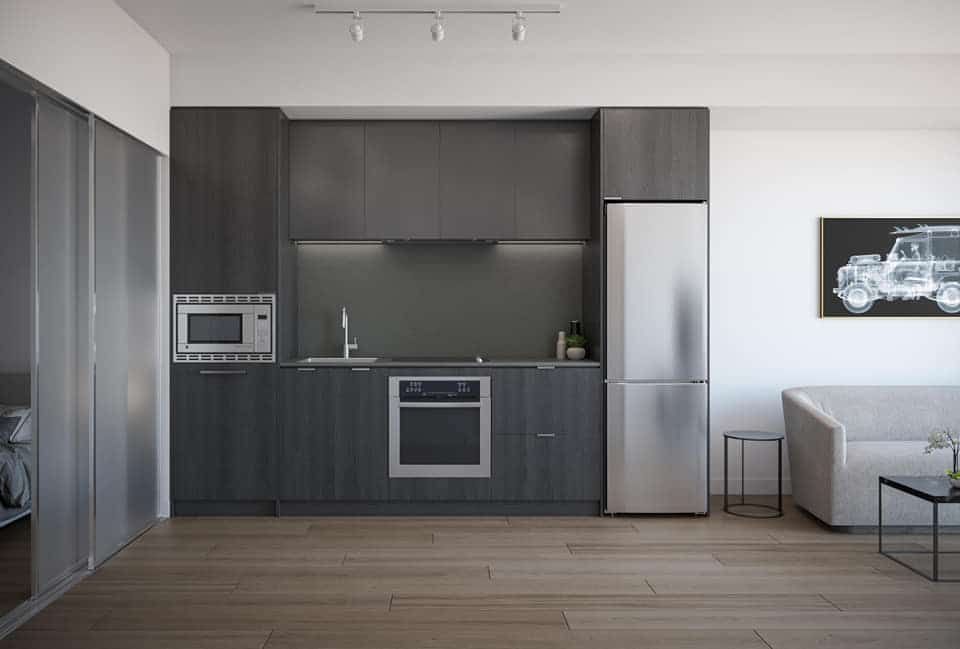 artform-condos-86-dundas-st-e-mississauga-kitchen-dark