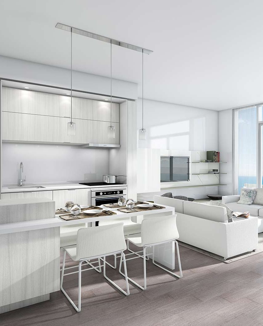 nautique-condos-374-martha-st-burlington-kitchen-living-room