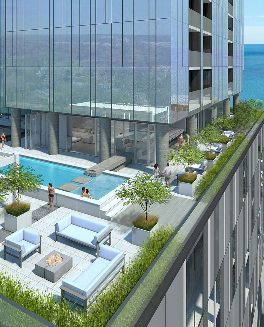 nautique-condos-374-martha-st-burlington-outdoor-pool
