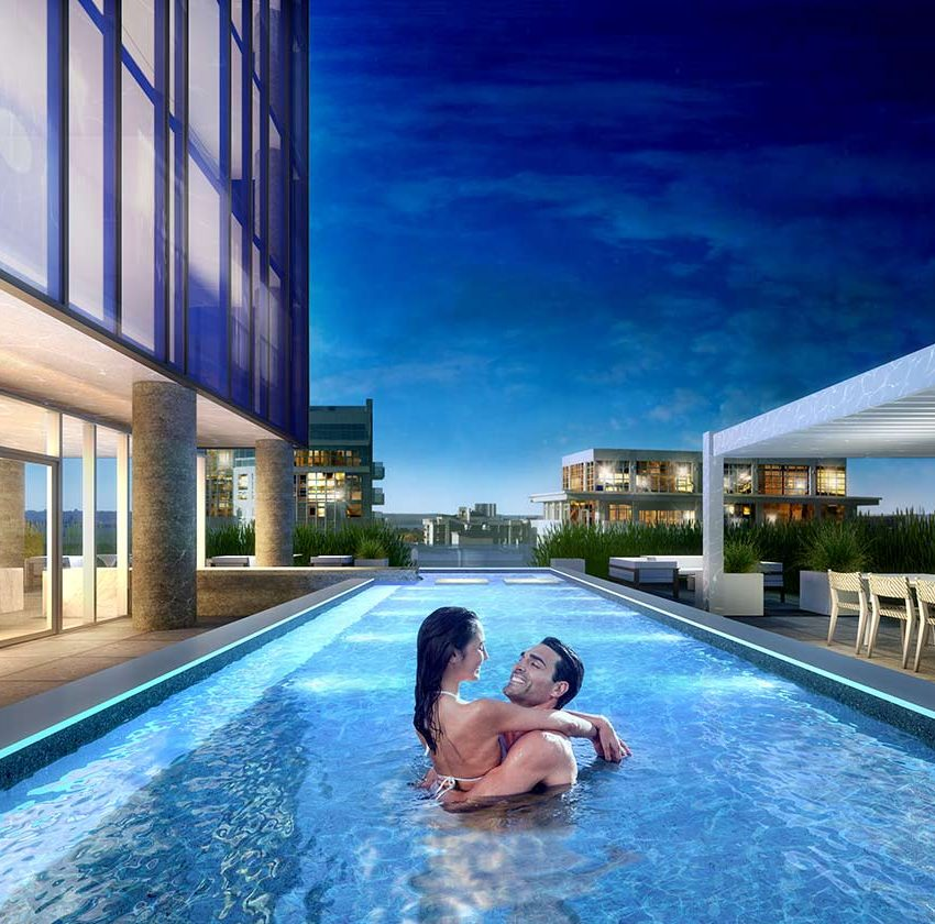 nautique-condos-374-martha-st-burlington-outdoor-pool-terrace