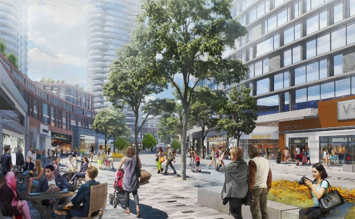 cloverdale-mall-redevelopment-etobicoke-condos-community