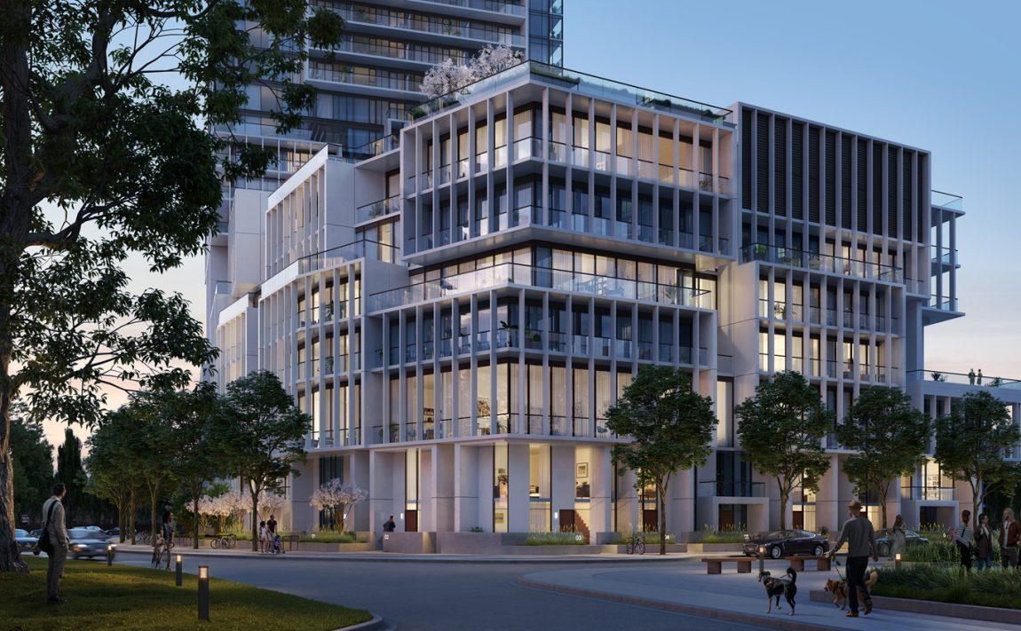 m4-condos-mississauga-square-one-condos-mcity-podium-architecture