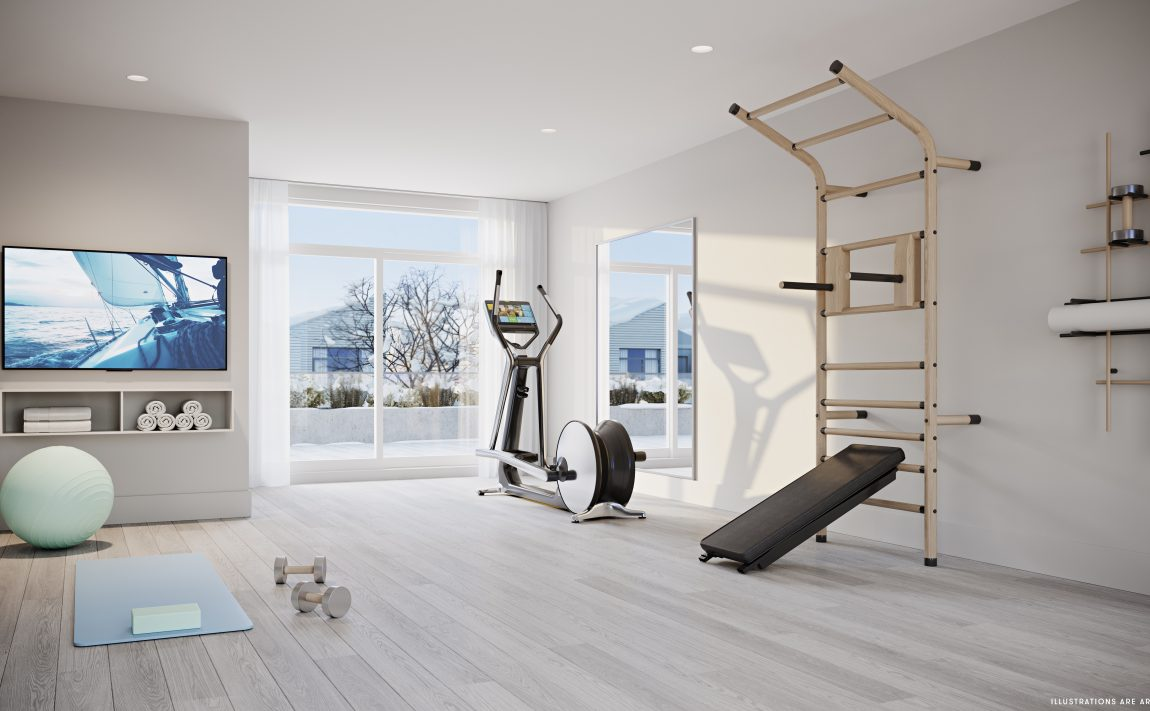 port-credit-brightwater-towns-for-sale-yoga-gym