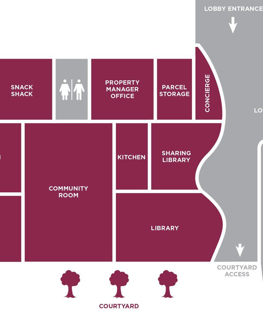 reina-condos-689-the-queensway-etobicoke-amenities-floorplan